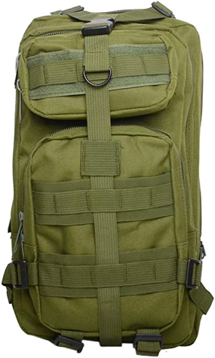 30L Outdoor Military Tactical Assault Shoulders Backpack Waterproof Hiking Pack