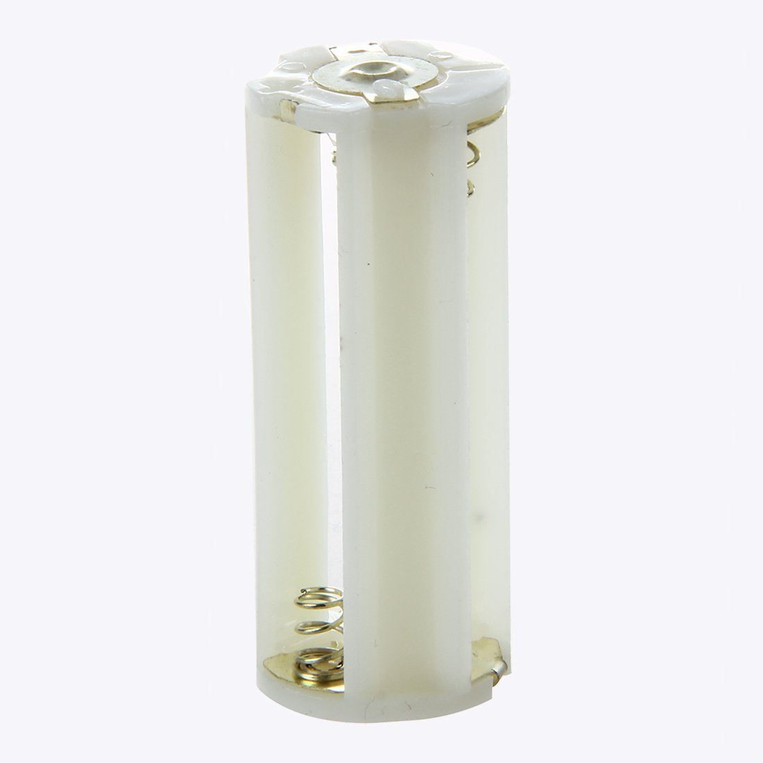 SODIAL (R) Flashlight Cylindrical 3 x AAA Battery Plastic Holder Box 5Pcs by SODIAL(R) (Image #2)