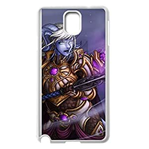 Samsung Galaxy Note 3 White phone case World of Warcraft Yrel WOW8634414