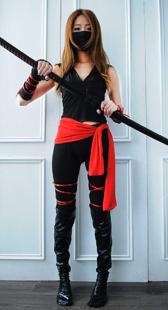 Amazon.com: EMONJAY Ninja Costume Suit [XXL Size for Women ...