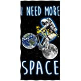 I Need More Space Cotton Beach Towel