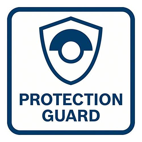 11.000 r.p.m Negro Protecci/ón contra rearranque con Caja de cart/ón Blanco Disco de 115 mm Bosch Home and Garden 0601394000 Bosch Professional 0601394000-Miniamoladora GWS 750-115//750 W Azul