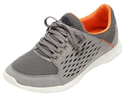 Clarks Seremax Lace Herren Sneakers Grau