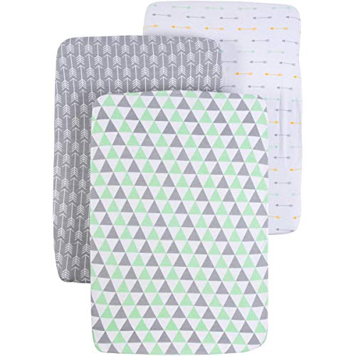 Pack n Play Sheets Set for Playard and Mini Crib Mattresses by BaeBae Goods (Image #3)