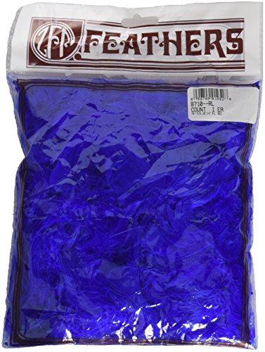 Zucker Feather (TM) - Loose Turkey Plumage Dyed - Royal