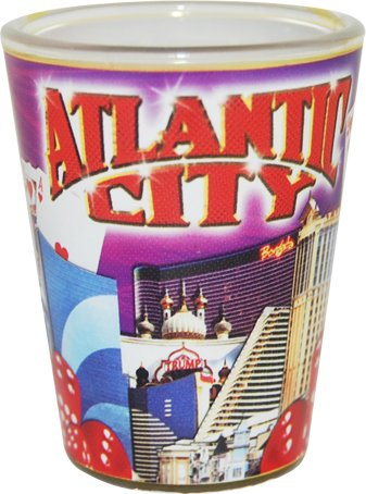 American Cities and States of Cool Shot Glass's (Atlantic -