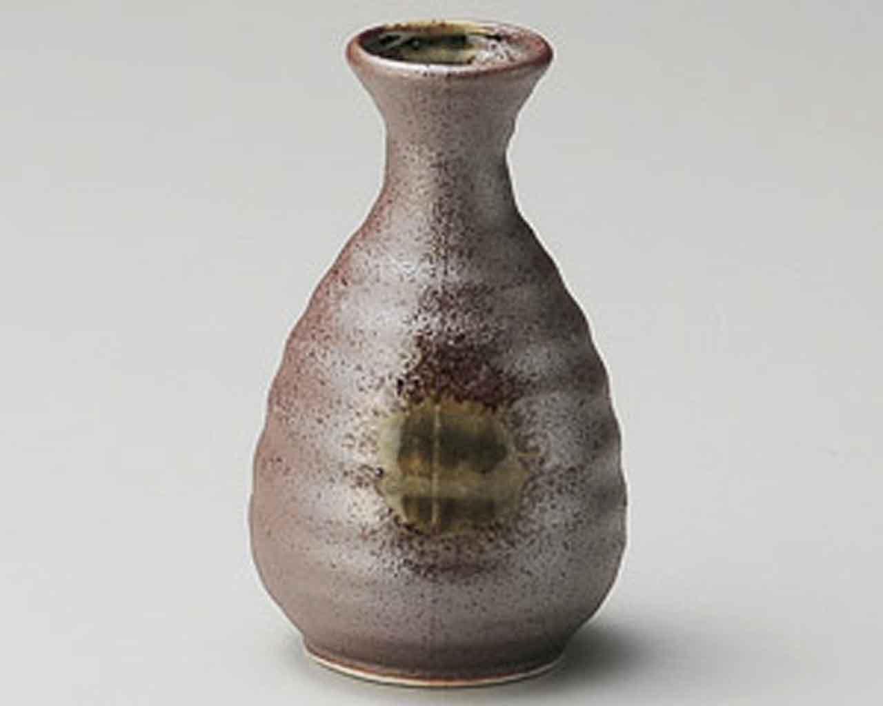 Sabi-kessho 2.3inch Set of 5 Sake carafes Brown porcelain Made in Japan by Watou.asia (Image #1)