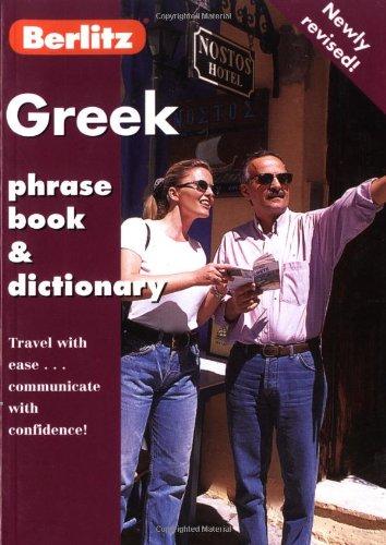 Berlitz Greek Phrase Book & Dictionary (Berlitz Phrase Book)