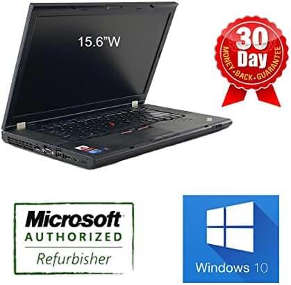 Lenovo ThinkPad T510 Intel Core i5-540M X2 2.66GHz 4GB 160GB DVD-RW 15.6'' Win7 (Black)