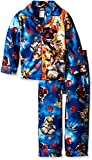 Star Wars Little Boys' Episode VII Rebel Alliance 2-Piece Pajama Coat Set, Blue, 4