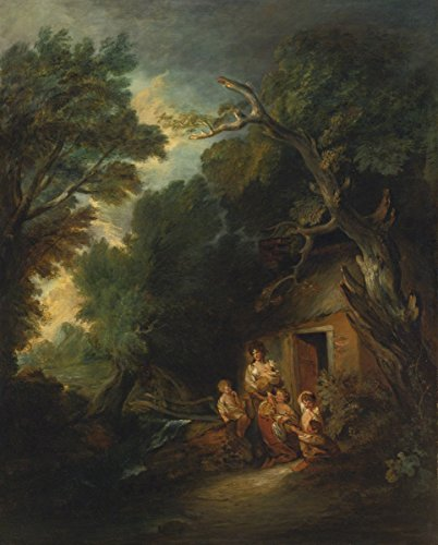Thomas Gainsborough - The Cottage Door, Poster art print wall d?cor