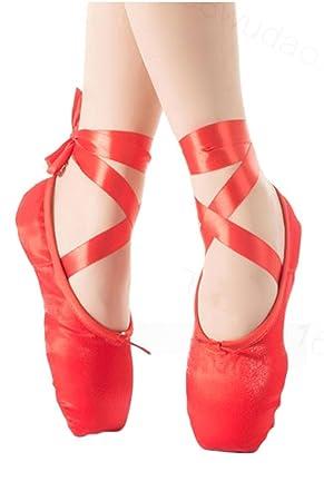 Zapatos Niños Punta Niñas Baile Ballet Ghope De 4LjARq35