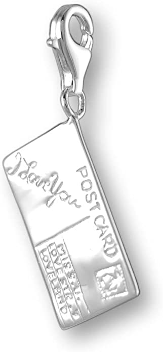 Melina Damen-Charm Anh/änger Anker 925 Sterling Silber 1800076