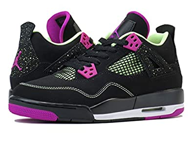brand new 38747 11e20 ... free shipping nike air jordan 4 retro 30th gg black fuchsia lime 4a821  98e98