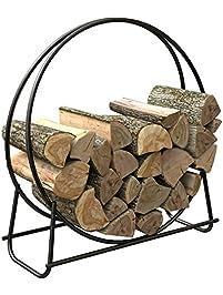panacea 40inch tubular steel log hoop - Firewood Racks