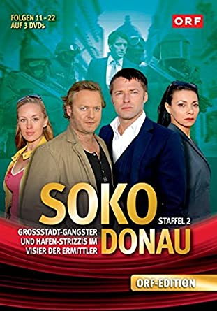 SOKO Donau: Staffel 2 [3 DVDs]: Amazon.de: Lilian Klebow, Dietrich ...