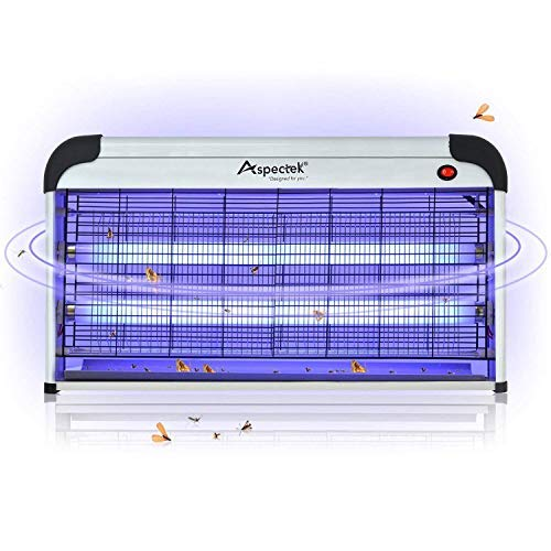 ASPECTEK Professional Electronic Indoor Insect Killer, Bug Zapper, Fly...