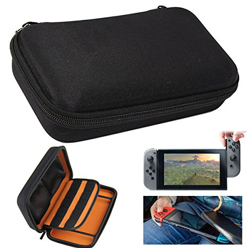 TUAVIT Hard Carrying Case Cover Protective Storage Shell Pouch for Nintendo Switch