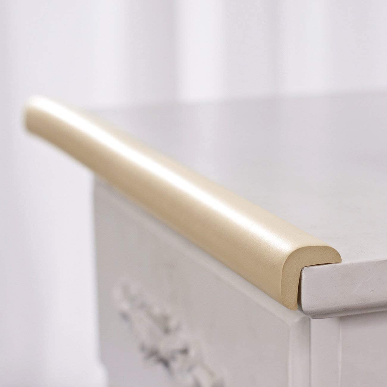 FayOK 78.7 inch Baby L Shape Safety Bumper Strip Table Desk Edge Corner Cushion Guard Strip