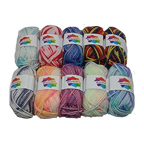 5d6f9271587b ... store walimpex yarn premium quality 100 acrylic multicolor yarn. 1814c  a23fc