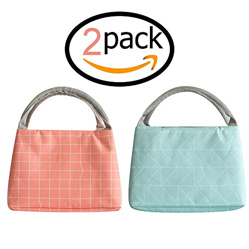 te Bag - Insulated Waterproof Lunch Box for Women, Adults, Kids, Girls, and Teen Girls ()