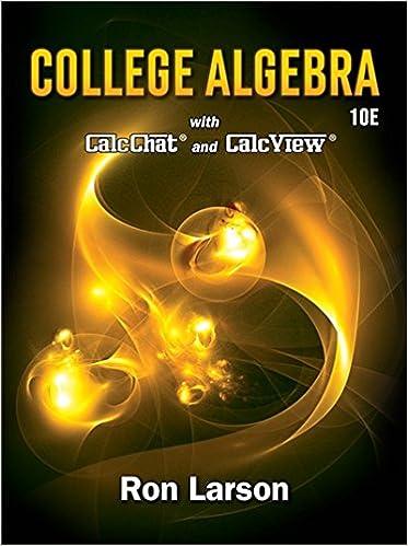 College algebra ron larson 9781337282291 amazon books college algebra 10th edition fandeluxe Image collections