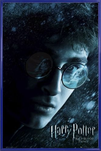 Harry Potter Poster and Frame (Plastic) - And The Half-Blood Prince, Harry Teaser (36 x 24 inches)