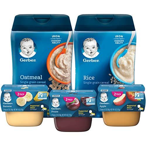 gerber baby food assorted pack - 5