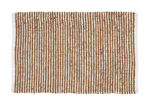 - Farmhouse Rug - Jute Cotton Rug 2x3 Feet (24x36 inches) Hand Woven by Skilled Artisans, for Any Room of Your Home décor - Jute Cotton Rug - Natural White