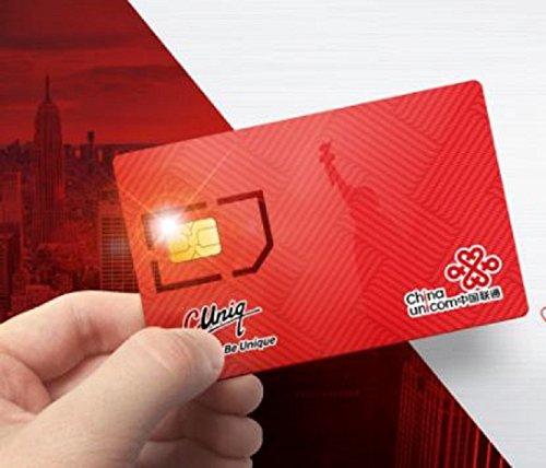 25 Cuniq local plan. Prepaid SIM Card Starter Kit - No Contract (Universal: Standard, Micro, Nano SIM) 30 days Unlimited call + 3 GB 4G LTE data plan by China Unicom (Image #4)