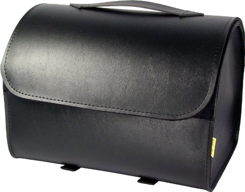 - Dowco Willie & Max 58517-00 Raptor Series: Synthetic Leather Motorcycle Max Pax Tour Trunk, Black, Universal Fit, 20 Liter Capacity