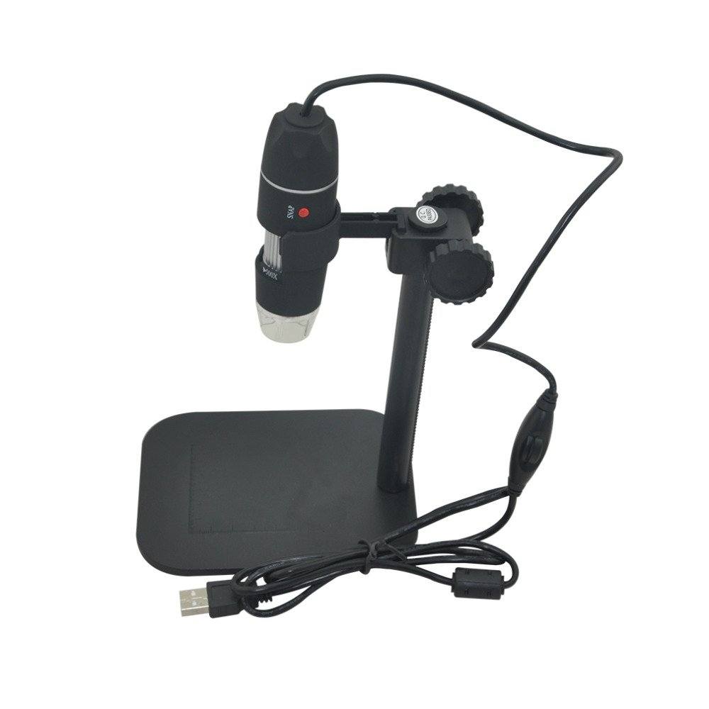 50-500X Digital Microscope for Stamps, Coins, Electronics Repair, etc...by Tech Express