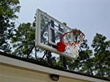 Roof King Gold: Complete Roof-Top Mounted Basketball Goal System with 48 Inch Clear