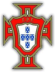 Portugal National Team Soccer Football Vinyl Sticker 4 X 5 inches