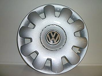 Juego de Tapacubos 4 Corpicerchio Diseño Volkswagen Golf Base (V) S r 15: Amazon.es: Coche y moto