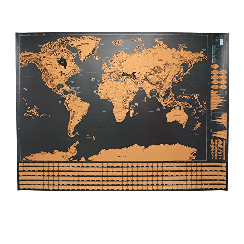 Corkboard World Map Amazoncom