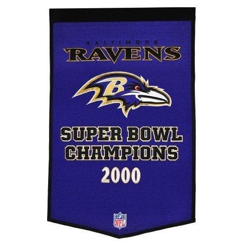 (Winning Streak NFL Baltimore Ravens Dynasty Banner)