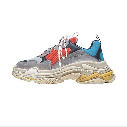 Balenciaga Shoes MenS & WomenS Vintage Triple S Trainers Fashion Sneakers ...