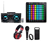 Novation Launchpad Pro USB MIDI RGB 64-Pad DJ Controller+Headphones+Mic+Speaker