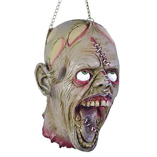 Bristol Novelty HI237 Hanging Dead Head, Multi-Colour, One Size -