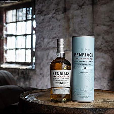 BenRiach THE ORIGINAL TEN Single Malt Three Cask Matured 43% - 700 ml in Giftbox
