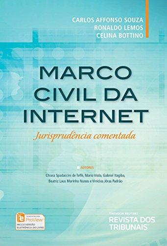 Marco Civil da Internet. Jurisprudência Comentada