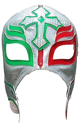 Deportes Martinez Rey Mysterio Professional Lucha Libre Mask Adult Luchador Mask Multicoloured by Deportes Martinez