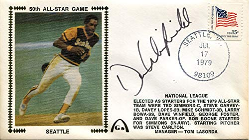 - Dave Winfield Autographed First Day Cover