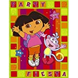 : Dora Birthday Invitations and Thank You Cards