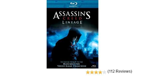 Assassin S Creed Lineage Blu Ray Amazon Ca Romano Orzari Claudia Ferri Devon Bostick Manuel Tadros Devery Jacobs Jesse Rath Alex Ivanovici Yves Simoneau Dvd