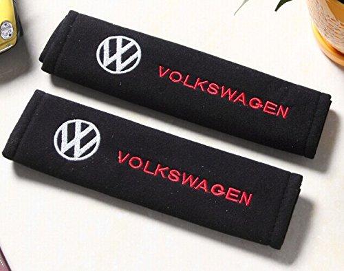 D&R® Set of 2 Seat Belt Covers Shoulder Pads For VW Volkswagen
