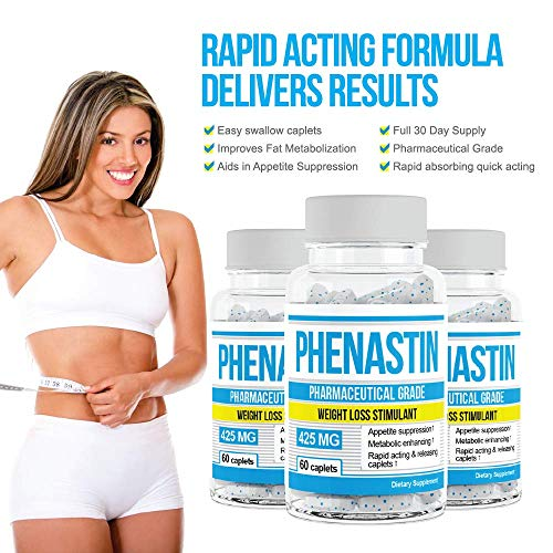 Phenastin - Diet Pills Extra Strength Weight Loss Aid Formulated for Men and Women by Phenastin (Image #5)