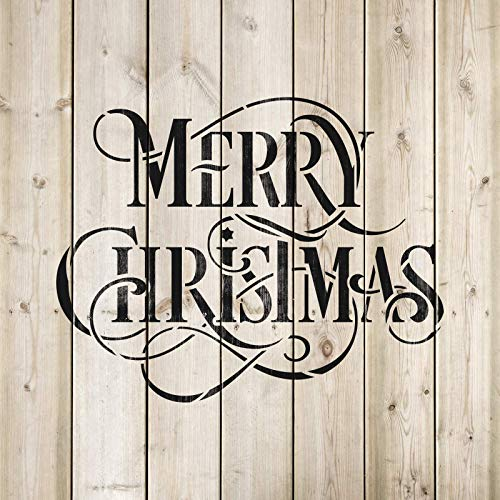 Christmas Stencils For Wood.Merry Christmas Stencil Perfect Stencil For Painting Wood Signs Reusable Stencils For Christmas With Fast Shipping