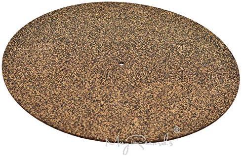 Cork /& Rubber Turntable Platter Mat Slipmat Anti-Static for LP Vinyl Record